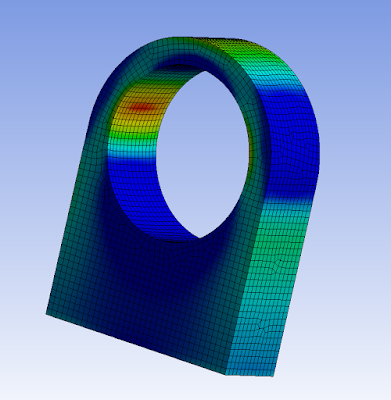 Finite element analysis used in place of lug design theory.
